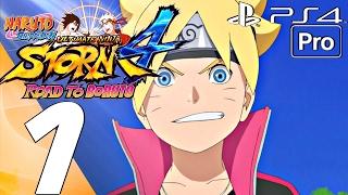 Naruto Shippuden Ultimate Ninja Storm 4 Road To Boruto DLC Expansion Gameplay Walkthrough PS4 1080P 60FPS English Language Japanese Dub Full Game Let's Play ...
