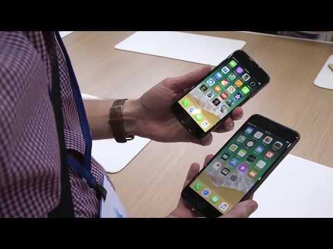 Первое живое видео iPhone 8 8 plus live video - Apple  first video -- First look at iPhone 8 8 plus