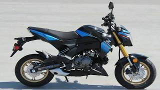 9. 2018 Kawasaki Z125 PRO SE