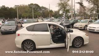 Autoline's 2010 Subaru Impreza Wagon WRX  Walk Around Review Test Drive