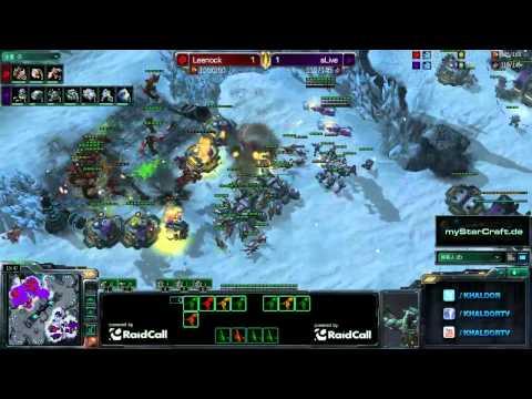 RO8 aLive (T) vs Leenock (Z) - Game 3