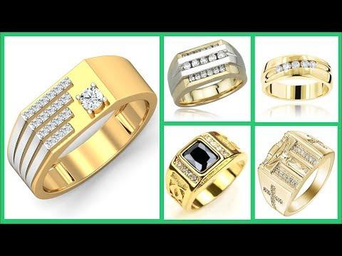 Finger Ring for Men | Engagement Ring Finger for Men | Best Gold Rings Design