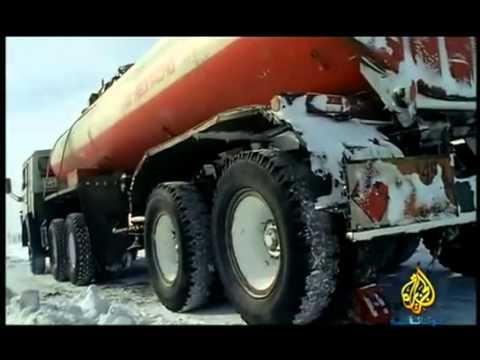 national geographic abu dhabi (HD) سائقوشاحنات في عالم خطر سيبيريا وثائقي