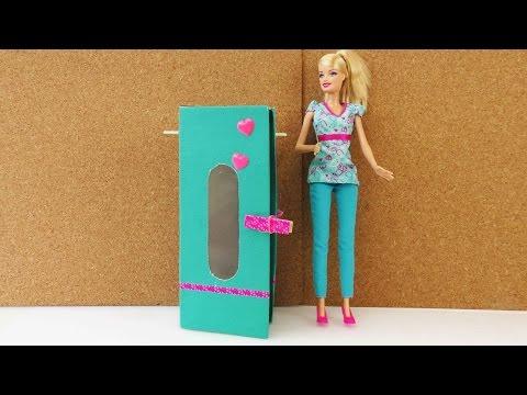 Barbie Kleiderschrank | Schrank einfach selber machen