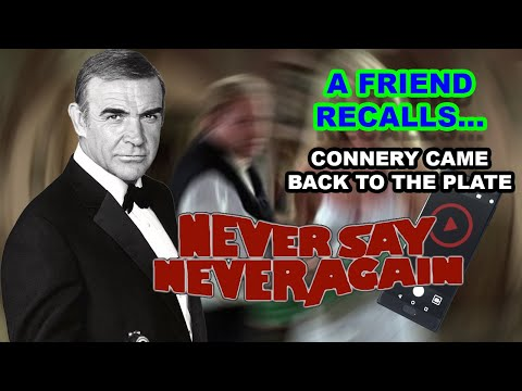 Never Say Never Again - The Silverback's Last Stand (A Friend Recalls Connery Tribute)
