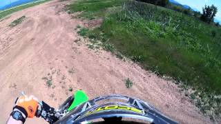 10. Motorcycle ride on 2016 KX450 and 2005 KTM 65 at Hoover ponds 5-7-16 GoPro hero 4 session.