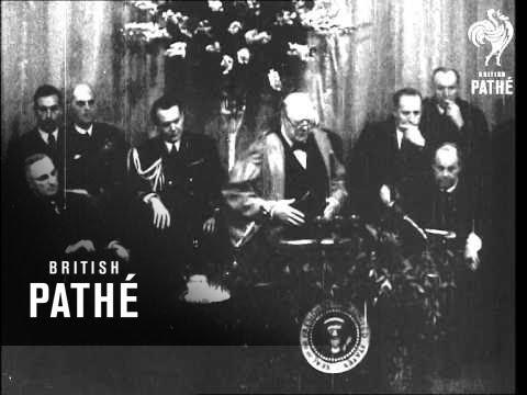 Churchill's Speech At Fulton (1945)