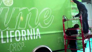 The Lime Truck by Gatorwraps! Gatorwraps.com