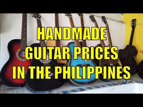 Handmade Guitar Prices In The Philippines.