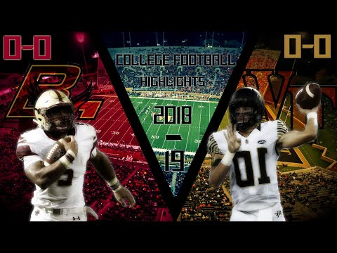 NCAA Football Week 3: Boston College vs Wake Forest Highlights
