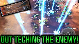 2v2 high level game on badlands against tidal zen / xBRx xTACTICSx * * Subscribe for new secret hidden halo wars 2 tips HW glitches easter eggs rush strategy...