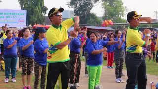 Senam HKN Ke 53 Kabupaten Batang Jateng