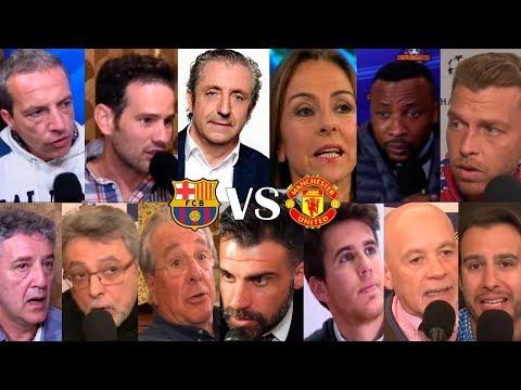 DIRECTO  Barça VS. Manchester United con El Chiringuito  VUELTA CUARTOS CHAMPIONS