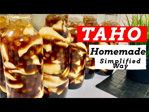 How to cook: Homemade TAHO using Soy Milk (Fastest Way)