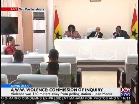 EC received no briefing from police on operational plans for election day - Jean Mensa