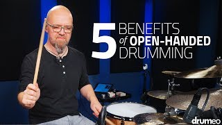 Playing drums open-handed is usually dismissed by the majority of drummers. After hearing what Claus Hessler had to say on the topic, well... Let's just say I have some practice to do.Try Drumeo Today!►http://www.Drumeo.com/trial/Follow us!►Facebook: http://www.facebook.com/drumeo/►Instagram: http://www.instagram.com/drumeoofficial/Claus Plays:Mapex DrumsSabian CymbalsEvans DrumheadsVic Firth Sticks