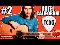 Como Tocar Hotel California (Eagles): Tutorial Guitarra Acústica 2 TCDG