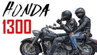 9. EN UNA HONDA VTX 1300 A MAS DE 160 KM/H 😎