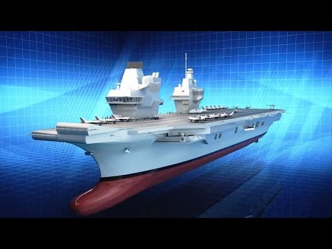 BAE Systems – HMS Queen Elizabeth Aircraft Carrier Amazing Facts [1080p]