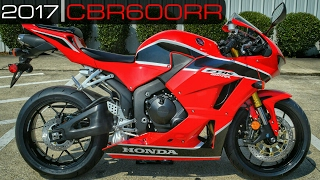 4. 2017 Honda CBR600RR Review of Specs / Walk-Around | CBR 600 RR SuperSport Bike / Motorcycle