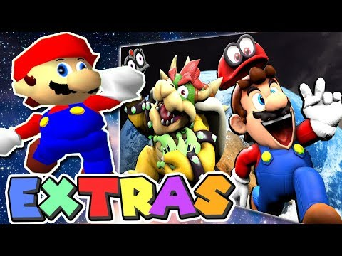 Mario's EXTRAS: Stupid Mario Odyssey 2