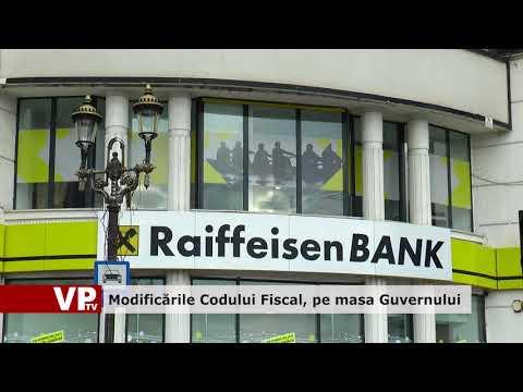 Modificările Codului Fiscal, pe masa Guvernului