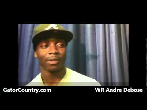 Andre Debose Interview 3/17/2011 video.