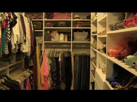 closet - Like this video if you want me to do a video all about closet organization and how to keep it neat and clean*** Get your own PAPERBACK copy of Beneath the...