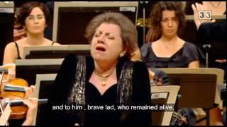 Prokofiev, The Field of the Dead, Ewa Podleś, contralto (subtitles)