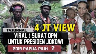 Video VIRAL ! Surat OPM untuk Jokowi , Rahasia Suara Papua 2019 Pilih ... MP3, 3GP, MP4, WEBM, AVI, FLV April 2019