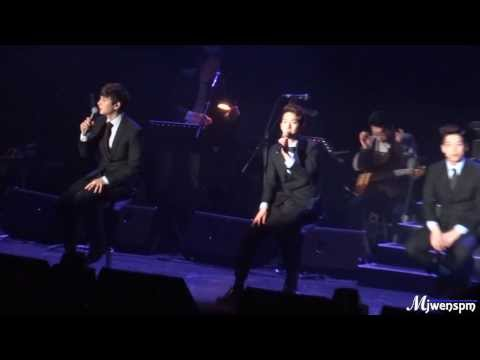 20131221 2AM CONCERT NOCTURN  in Taipei 대만 – 紅豆 & 倔強 (Chinese song)