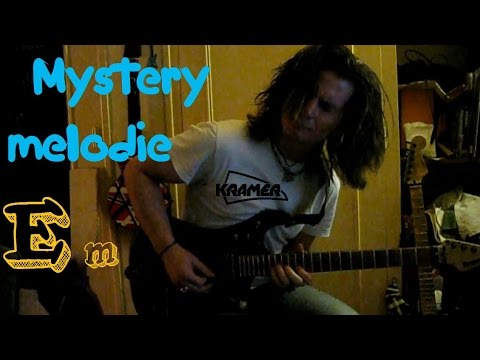 "Guitar Impro on backing ""Mystery melodie"" by Simon borro 2015"
