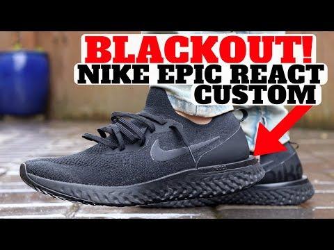 Nike Epic React Flyknit Custom In 3 Easy Steps!