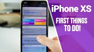 Video iPhone XS Max - First 11 Things To Do! MP3, 3GP, MP4, WEBM, AVI, FLV Juni 2019