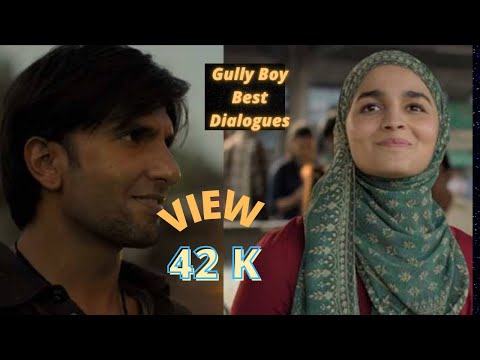 Gully Boy Deleted Scenes and Best Dialouge 1