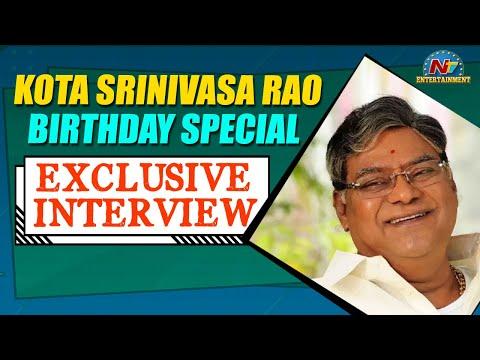 Kota Srinivasa Rao Birthday Special | Exclusive Interview