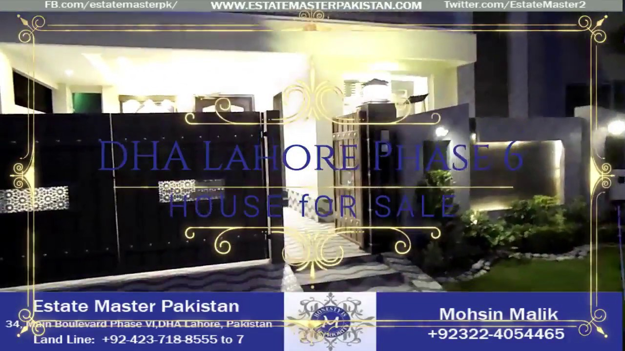 7 Marla Brand new Modern Luxury Bungalow For Sale In DHA Phase 6 Lahore