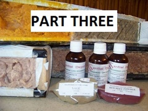 Part 3. How to make Hot Process Lye Soap, Soap on the Road with Essential soap