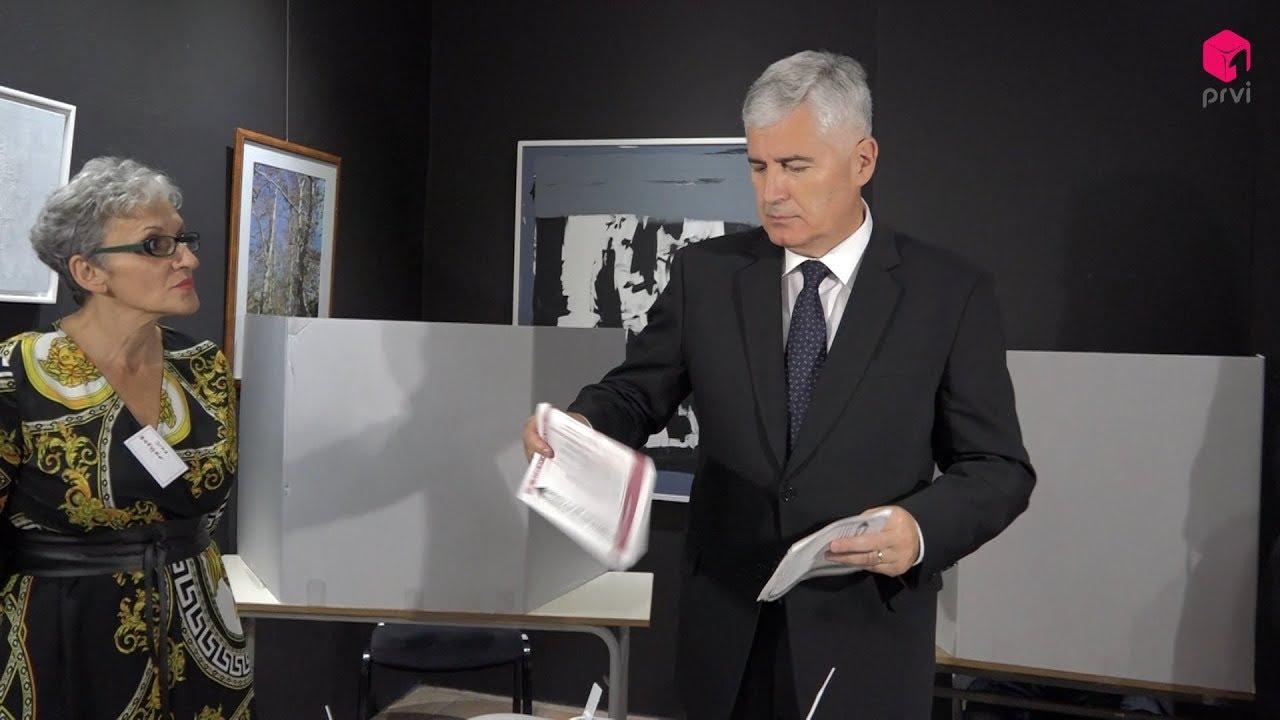 Dr. Dragan Čović ispunio građansku dužnost