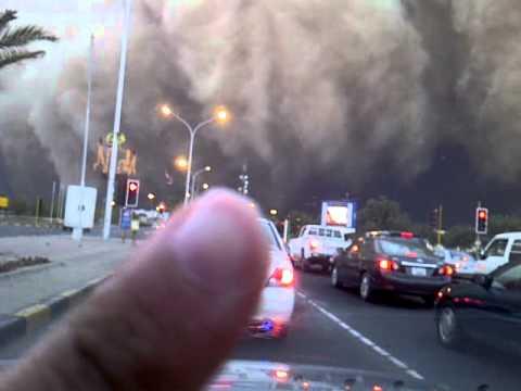 عاصفة الكويت  Kuwait Giant Sandstorm