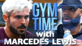 Video I Train with NFL Great Marcedes Lewis | Gym Time w/ Zac Efron MP3, 3GP, MP4, WEBM, AVI, FLV April 2019