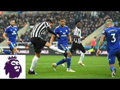 Video: Fabian Schar's solo run ends in goal for Newcastle v. Cardiff City | Premier League | NBC Sports