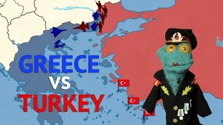 Is Turkish military stronger than Greek one? How does the geography affect a possible conflict? How would Cyprus fare during all...