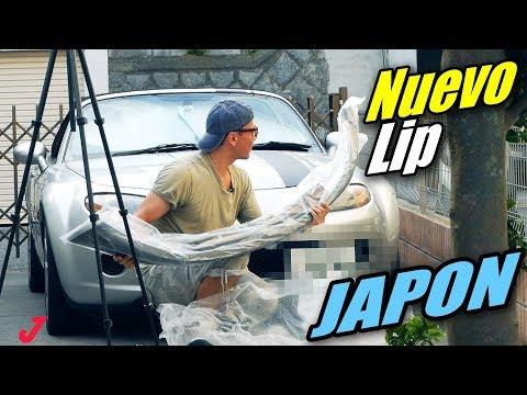 NUEVO LIP para el MIATA MX-5!  TUNiNG en TOKYO JAPON