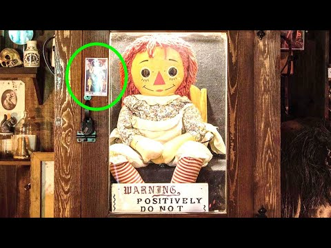 Has Annabelle The Haunted Doll Just Escaped From The Warren Museum?