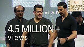 Video Salman Khan Gate Crashed A Party To Meet Rajinikanth   4.5 Million+ Views   Six Sigma Films MP3, 3GP, MP4, WEBM, AVI, FLV Juli 2018