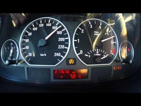 BMW E46 330xi 100-200 acceleration