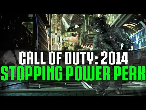 Call of Duty 2014 - Stopping Power & Health