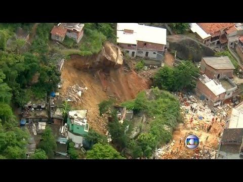 Rio de Janeiro: 10 Tote durch Erdrutsch in Armenviert ...
