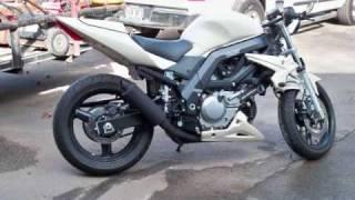 5. Suzuki SV650 streetfighter motorcycle build naked sportbike sv 650
